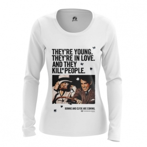 Merchandise Women'S Long Sleeve Bonnie And Clyde Jersey Print