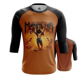 Merchandise Men'S Raglan Manowar Band
