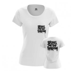 Merchandise Women'S T-Shirt Bmth Sign Bring Me The Horizon Top