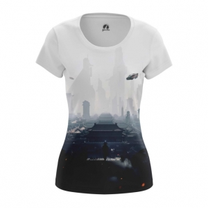 Collectibles Women'S T-Shirt Future City Urban Top