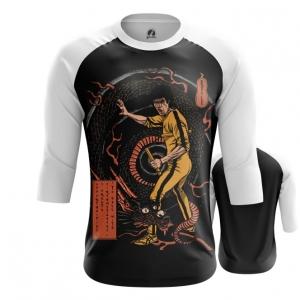 Merchandise Men'S Raglan Game Of Death Bruce Lee Yellow