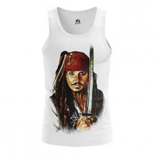 Collectibles Men'S Vest Captain Jack Sparrow Top