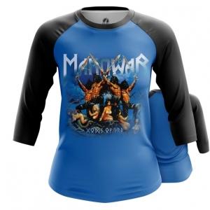 Merchandise Women'S Raglan American Heavy Metal Manowar