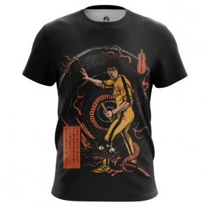 Merchandise Men'S T-Shirt Game Of Death Bruce Lee Yellow Top