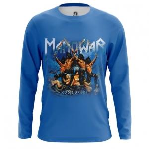 Merchandise Men'S Long Sleeve American Heavy Metal Manowar