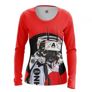 Merchandise Women'S Long Sleeve Robot Cyberpunk Red