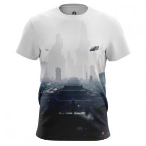 Collectibles Men'S T-Shirt Future City Urban Top