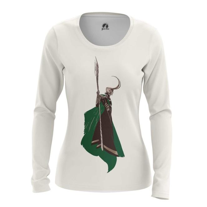 Merchandise Women'S Long Sleeve Loki Minimalist Tom Hiddleston