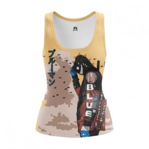 Merchandise Women'S Vest Urban Samurai Cyberpunk Top Tank