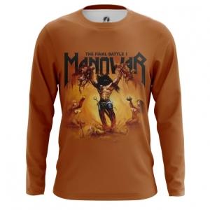 Merchandise Men'S Long Sleeve Manowar Band