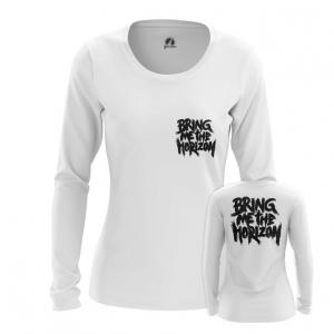 Merchandise Women'S Long Sleeve Bmth Sign Bring Me The Horizon