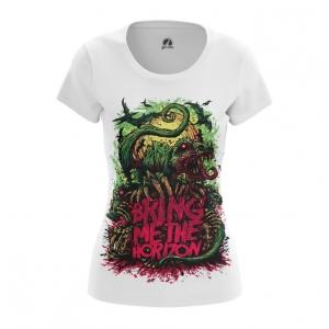 Merchandise Women'S T-Shirt Bring Me The Horizon Cover Print Top
