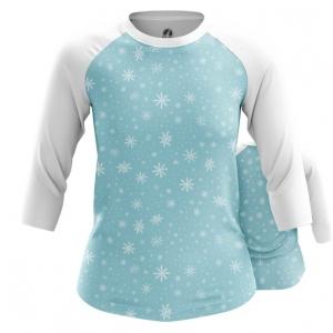 Collectibles Women'S Raglan Snowflakes Pattern Snow Falling