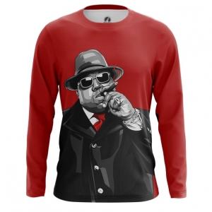 Merchandise Men'S Long Sleeve Notorious B.i.g. Biggie Smalls