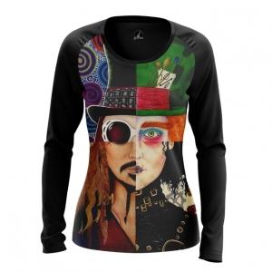Merchandise Women'S Long Sleeve Johnny Depp Alter-Ego Characters