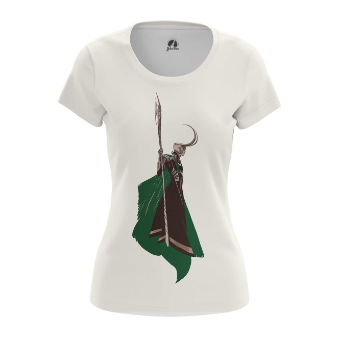Merchandise Women'S T-Shirt Loki Minimalist Tom Hiddleston Top