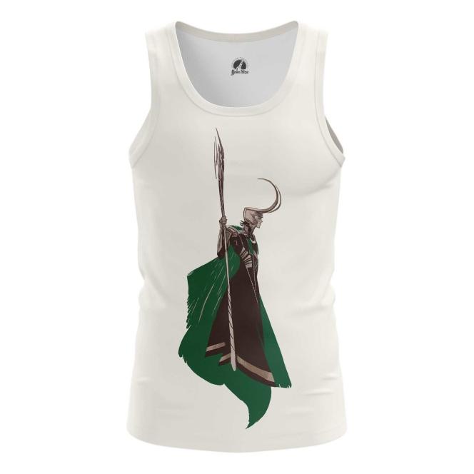 Merchandise Men'S Vest Loki Minimalist Tom Hiddleston Top