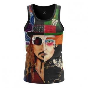 Merchandise Men'S Vest Top Johnny Depp Alter-Ego Characters
