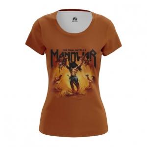 Merchandise Women'S T-Shirt Manowar Band Top