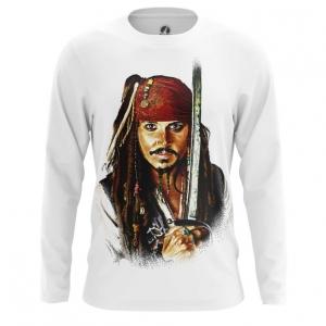 Collectibles Men'S Long Sleeve Captain Jack Sparrow