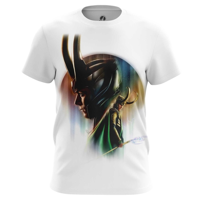 Merchandise Men'S T-Shirt Loki Odinson Marvel Print Top