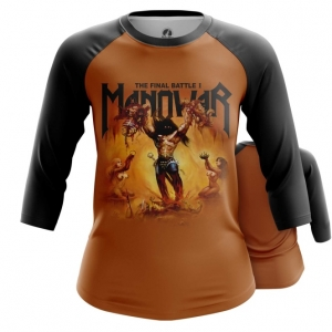 Merchandise Women'S Raglan Manowar Band