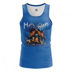 Merchandise Men'S Vest American Heavy Metal Manowar Top