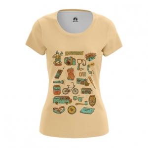 Merch Stranger Things T-Shirt Top Female Style