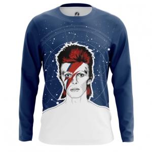 Merch Men'S Long Sleeve David Bowie Ziggy Stardust