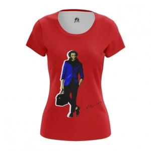 Collectibles Women'S T-Shirt Alexander Pushkin Poet Novelist Top