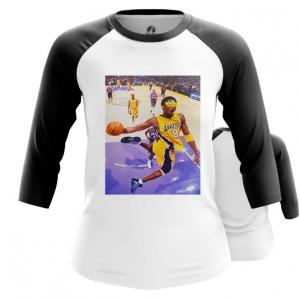 Merch Women'S Raglan Kobe Bryant Lakers Mamba