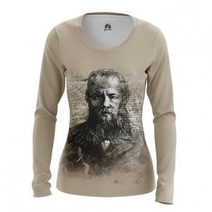 Collectibles Women'S Long Sleeve Fyodor Dostoyevsky Russian Novelist