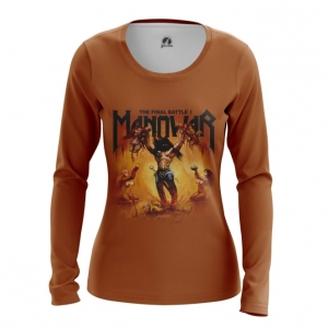 Merchandise Women'S Long Sleeve Manowar Band