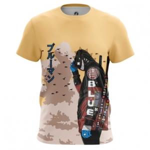 Merchandise Men'S T-Shirt Urban Samurai Cyberpunk Top