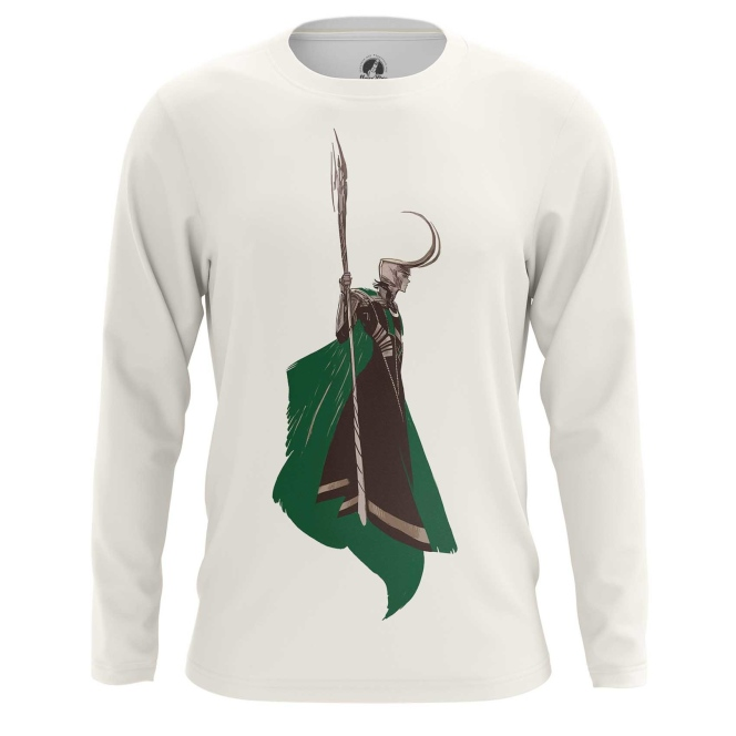 Merchandise Men'S Long Sleeve Loki Minimalist Tom Hiddleston