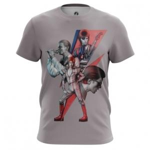 Merch Men'S T-Shirt David Bowie Alter-Egos Print Top