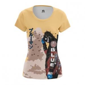 Merchandise Women'S T-Shirt Urban Samurai Cyberpunk Top