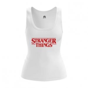 Merch Women'S Vest Stranger Things Logo Title Print Top Tank