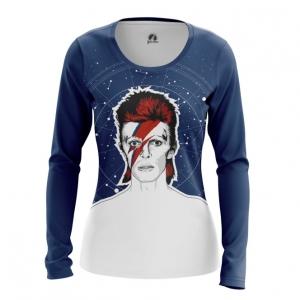 Merch Women'S Long Sleeve David Bowie Ziggy Stardust