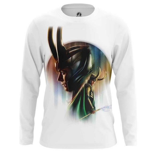 Merchandise Men'S Long Sleeve Loki Odinson Marvel Print