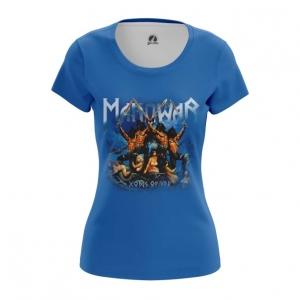 Merchandise Women'S T-Shirt American Heavy Metal Manowar Top