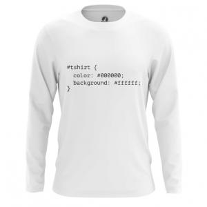 Merchandise Men'S Long Sleeve Css Styles Print Web Humor