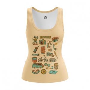 Merch Stranger Things Vest Women'S Version Top Tank