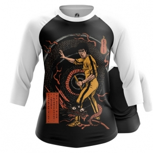 Merchandise Women'S Raglan Game Of Death Bruce Lee Yellow