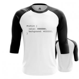 Merchandise Men'S Raglan Css Styles Print Web Humor