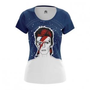 Merch Women'S T-Shirt David Bowie Ziggy Stardust Top
