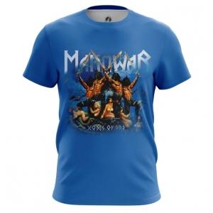 Merchandise Men'S T-Shirt American Heavy Metal Manowar Top