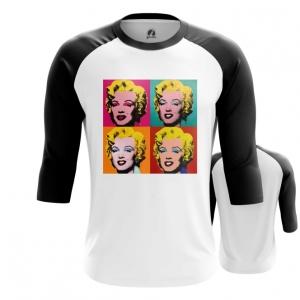 Merchandise Men'S Raglan Marilyn Monroe Andy Warhol
