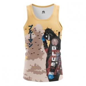 Merchandise Men'S Vest Urban Samurai Cyberpunk Top