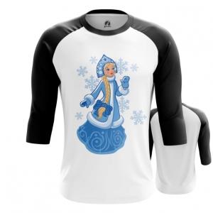 Collectibles Men'S Raglan Snow Maiden Russian Fairy Tales